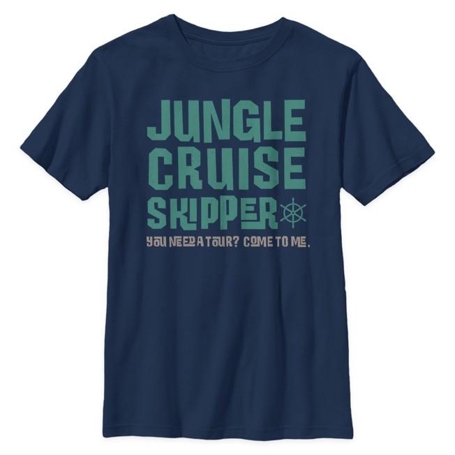 Jungle Cruise Skipper T-Shirt for Kids