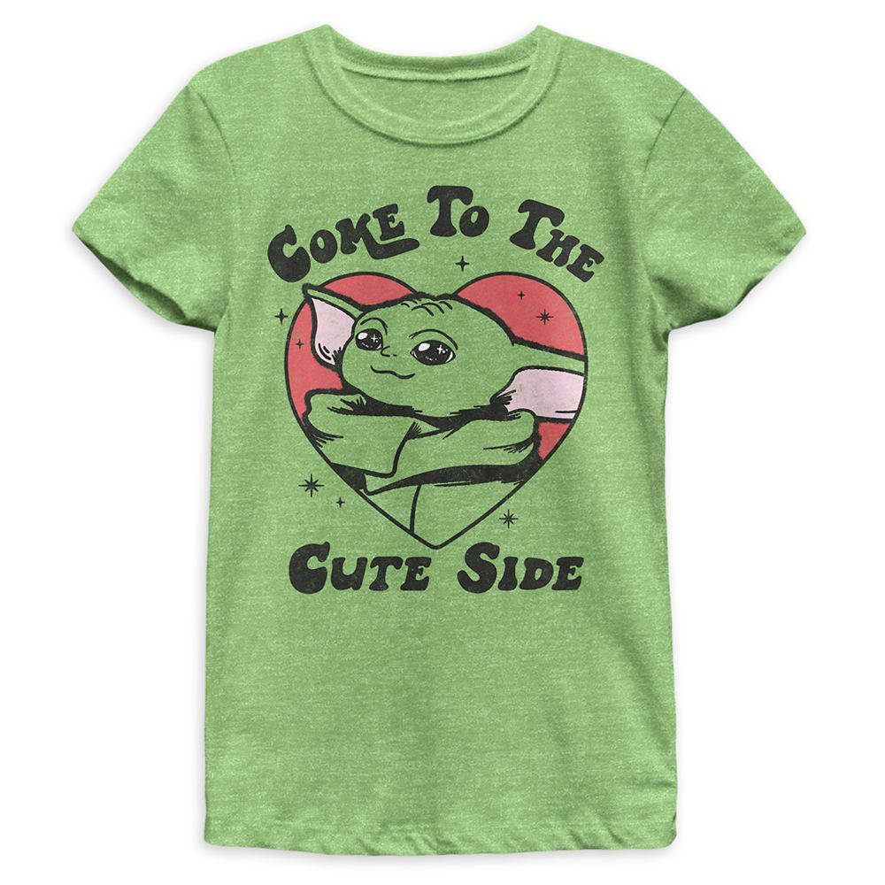 The Child ''Come to the Cute Side'' T-Shirt for Girls – Star Wars: The Mandalorian Season 2