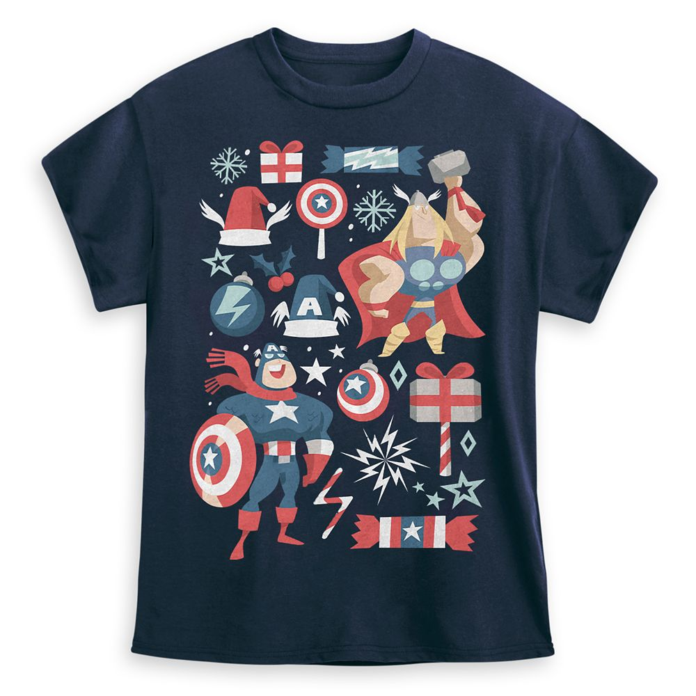 Avengers Holiday T-Shirt for Kids
