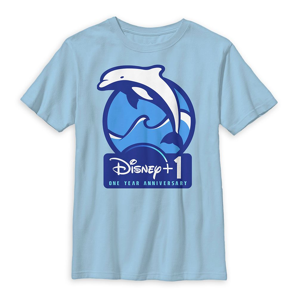 Dolphin Disney+ One Year Anniversary T-Shirt for Kids – National Geographic