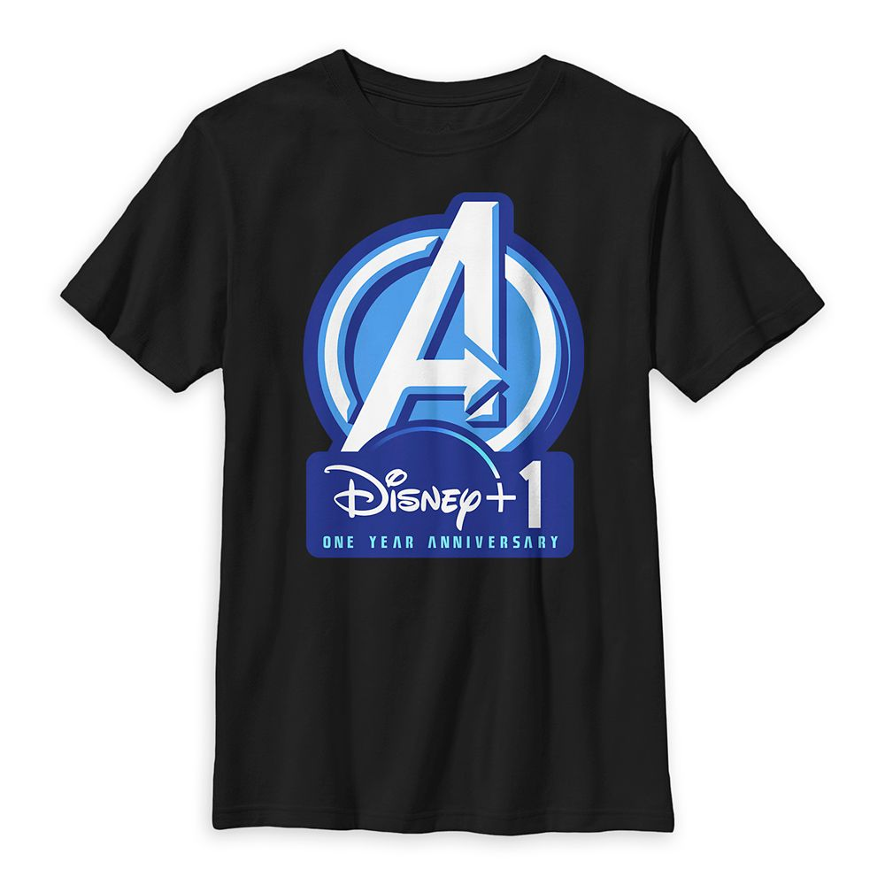 Avengers Disney+ One Year Anniversary T-Shirt for Kids – Marvel
