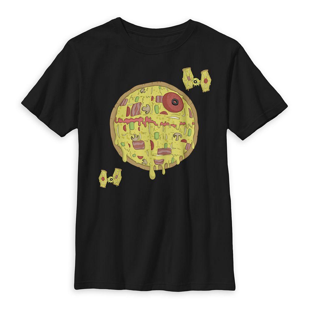 Death Star Pizza T-Shirt for Kids – Star Wars