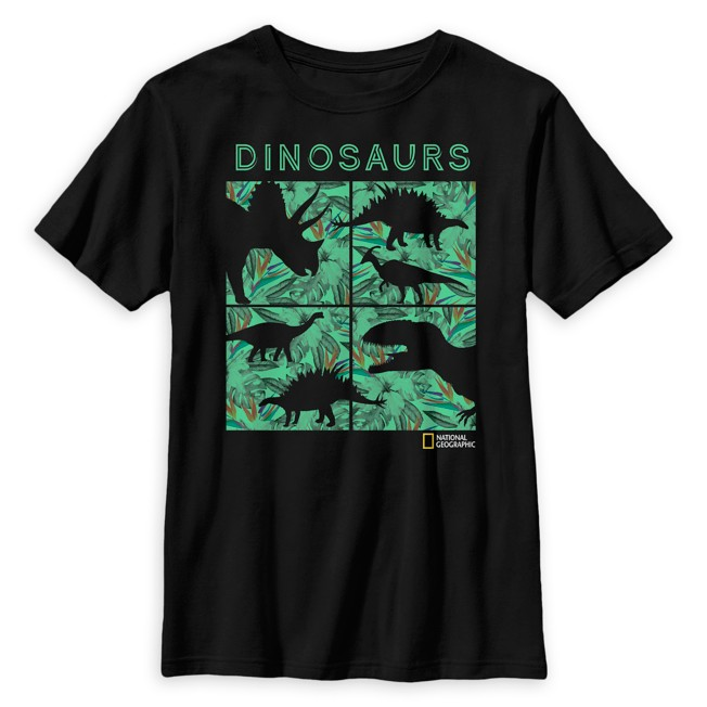 National Geographic Dinosaur Silhouettes T-Shirt for Kids