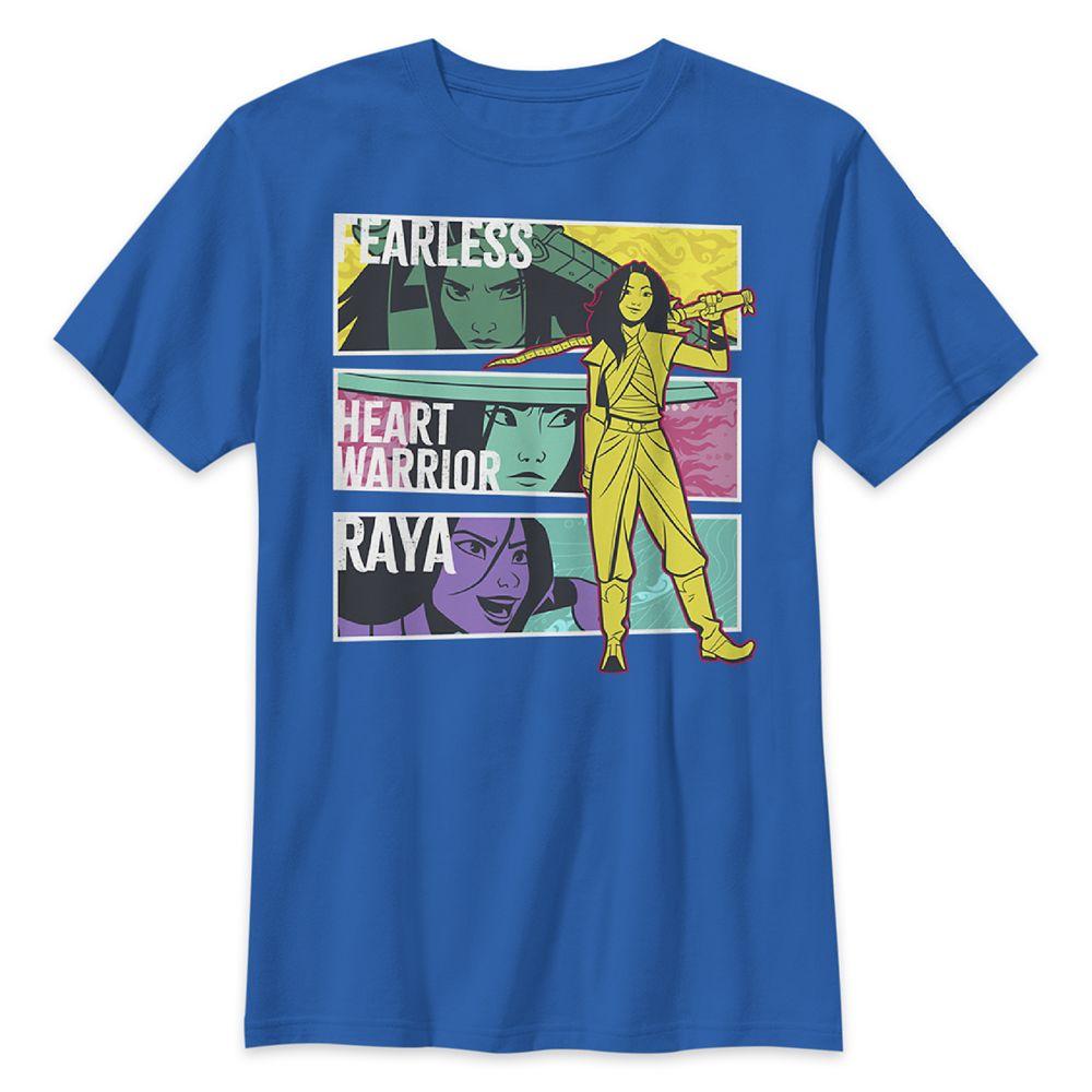 Raya T-Shirt for Kids – Disney's Raya and the Last Dragon – Blue