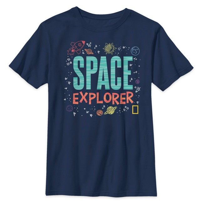 National Geographic ''Space Explorer'' T-Shirt for Kids