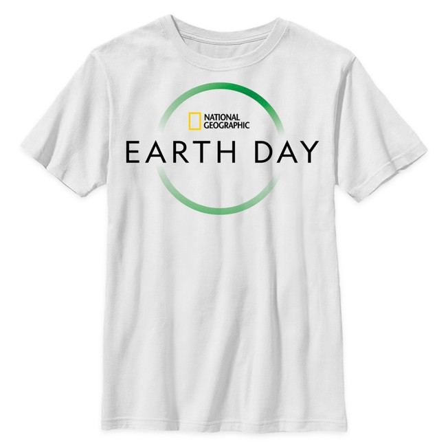 National Geographic Earth Day T-Shirt for Kids