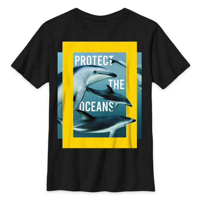 National Geographic ''Protect the Oceans'' T-Shirt for Kids