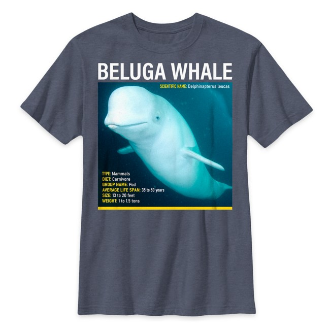 National Geographic Beluga Whale T-Shirt for Kids