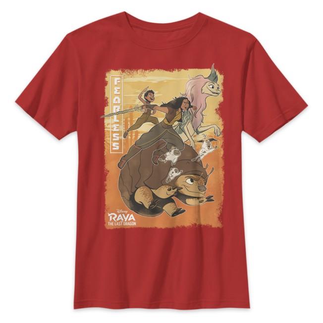 Raya and the Last Dragon Team T-Shirt for Kids