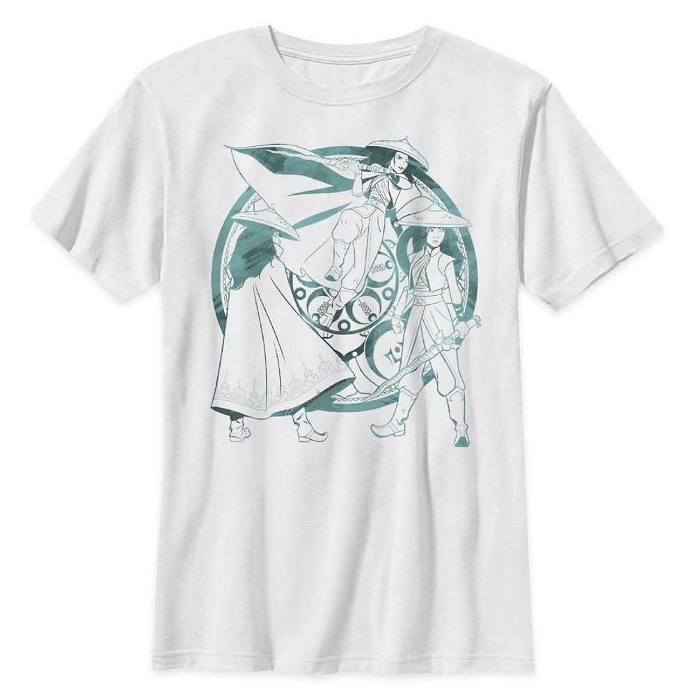 Raya T-Shirt for Kids – Disney's Raya and the Last Dragon – White