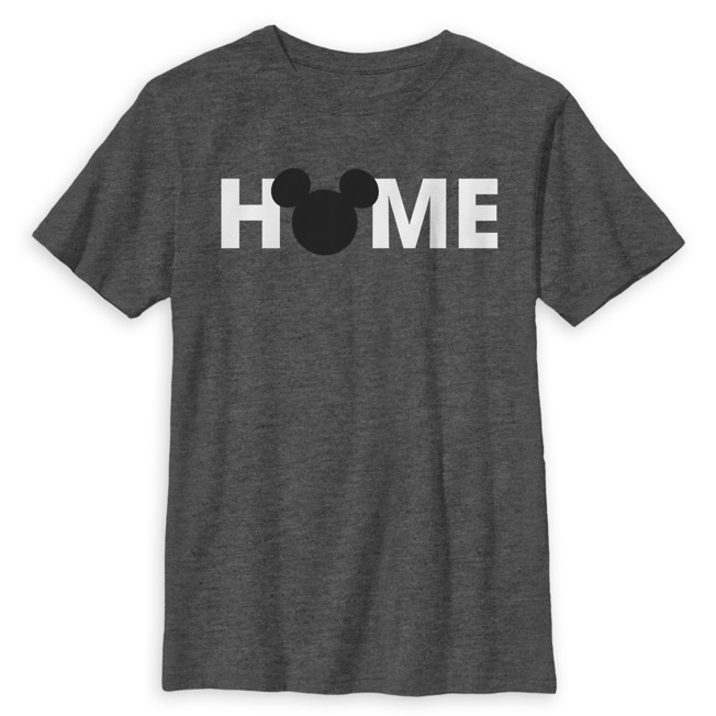 Mickey Mouse Icon ''Home'' T-Shirt for Kids
