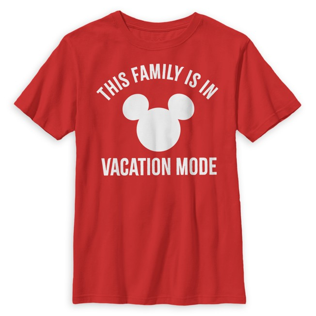Mickey Mouse Icon ''Vacation'' T-Shirt for Kids