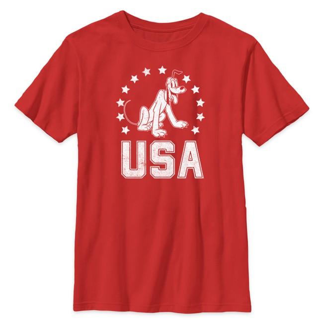 Pluto Americana T-Shirt for Kids
