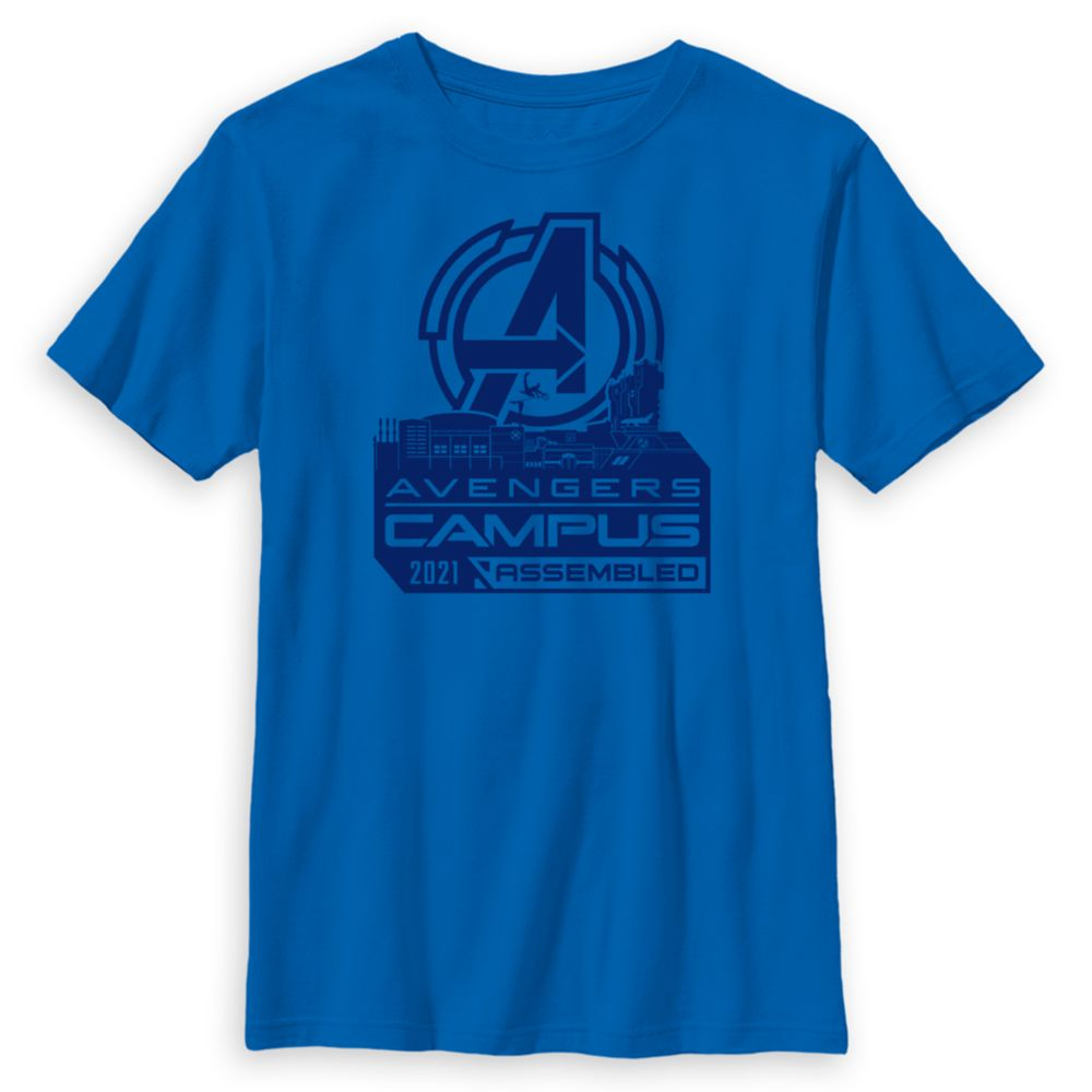 Avengers Campus Buildings T-Shirt for Kids