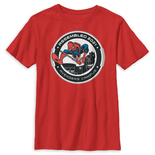 Spider-Man Avengers Campus T-Shirt for Kids