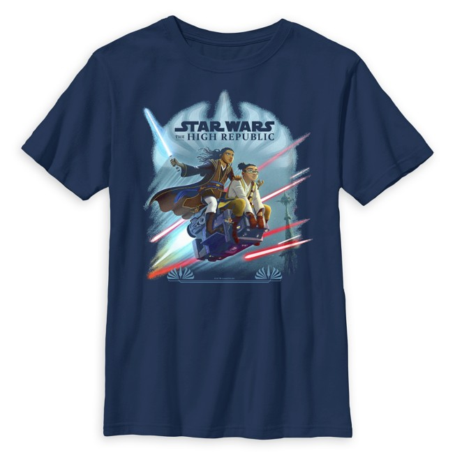 Star Wars The High Republic: Race to Crashpoint Tower T-Shirt for Kids