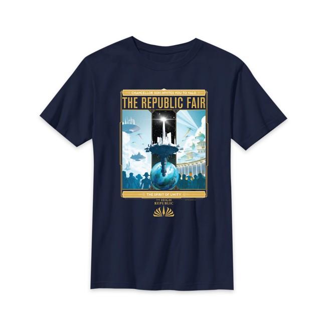 Star Wars The High Republic: The Republic Fair T-Shirt for Kids