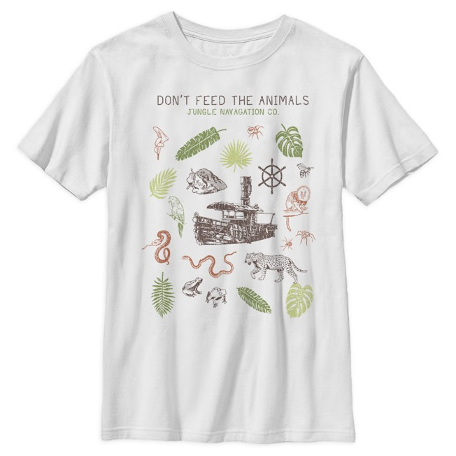 ''Don't Feed the Animals'' T-Shirt for Kids – Jungle Cruise Film