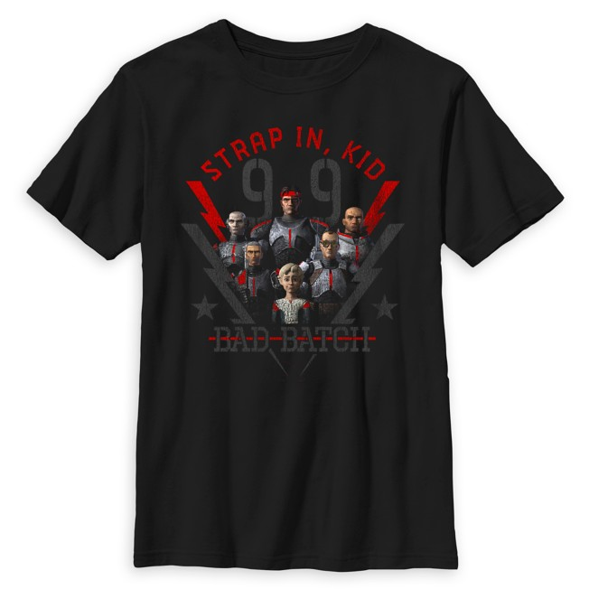 ''Strap In, Kid'' Poster T-Shirt for Kids – Star Wars: The Bad Batch