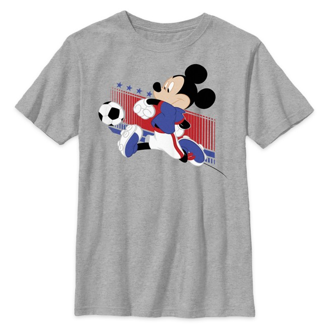 Mickey Mouse Soccer T-Shirt for Kids