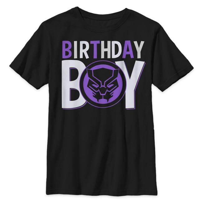 Black Panther ''Birthday Boy'' T-Shirt for Kids