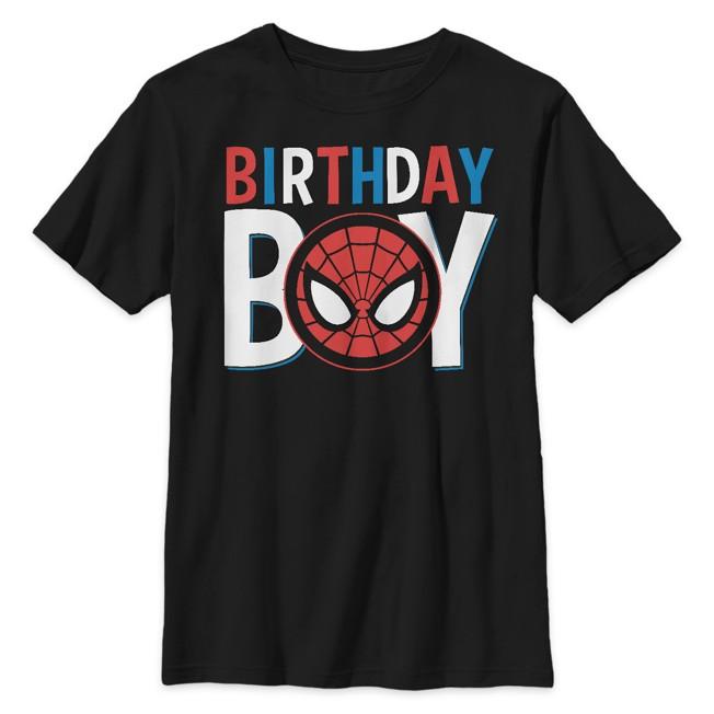 Spider-Man ''Birthday Boy'' T-Shirt for Kids