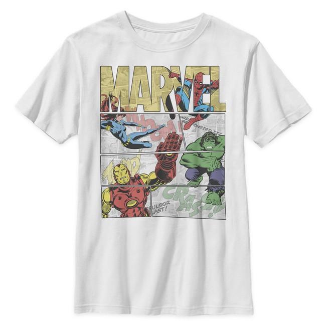 Marvel Comic T-Shirt for Kids