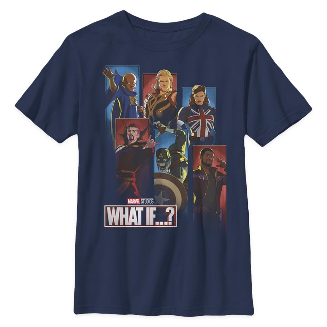 Marvel What If...? Cast T-Shirt for Kids