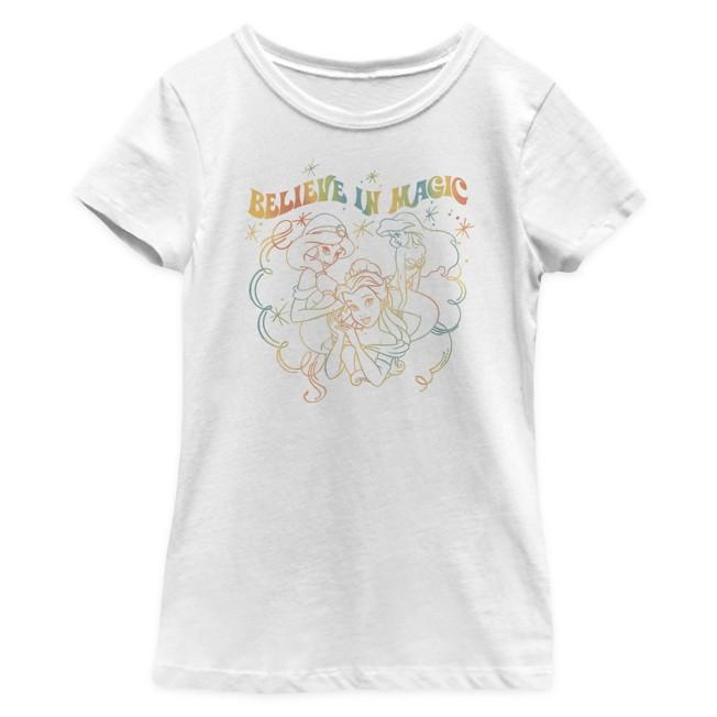 Disney Princess ''Believe in Magic'' T-Shirt for Girls