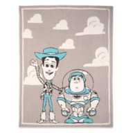Woody and Buzz Lightyear Stroller Blanket by Barefoot Dreams – Toy Story