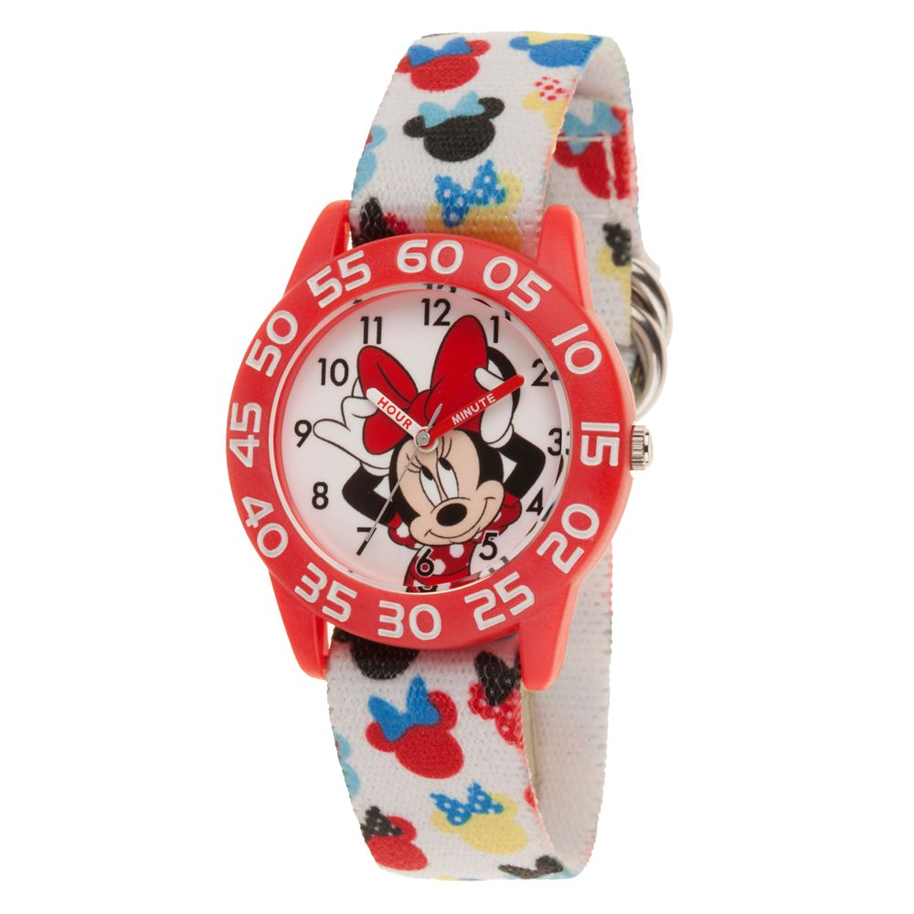 Minnie Mouse Icon Time Teacher Watch – Kids