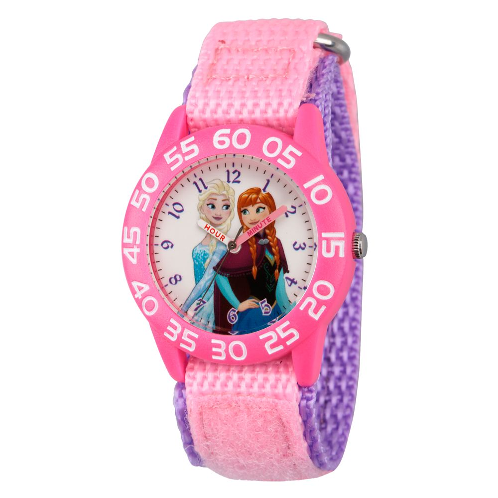 Elsa and Anna Time Teacher Watch  Kids Official shopDisney