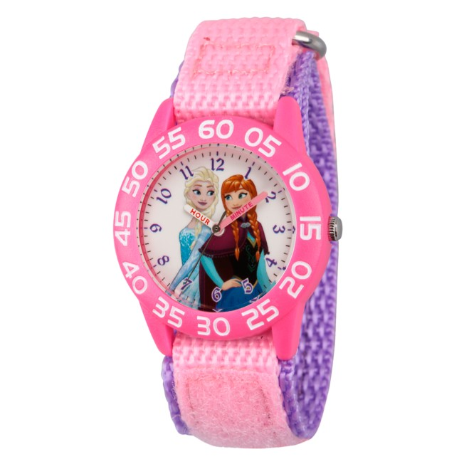 Elsa and Anna Time Teacher Watch – Kids