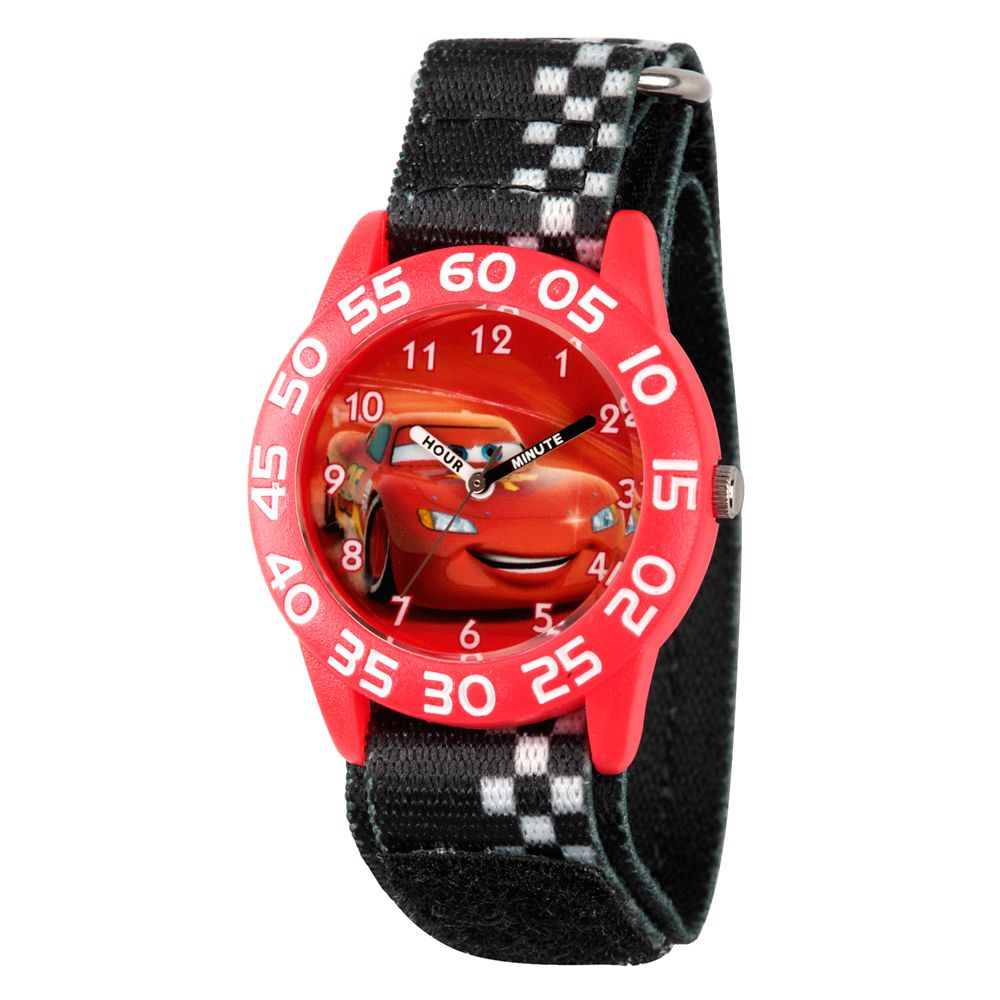 Lightning McQueen Time Teacher Watch – Kids