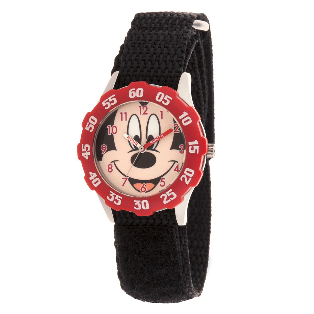 Mickey Mouse Stainless Steel Time Teacher Watch  Kids Official shopDisney