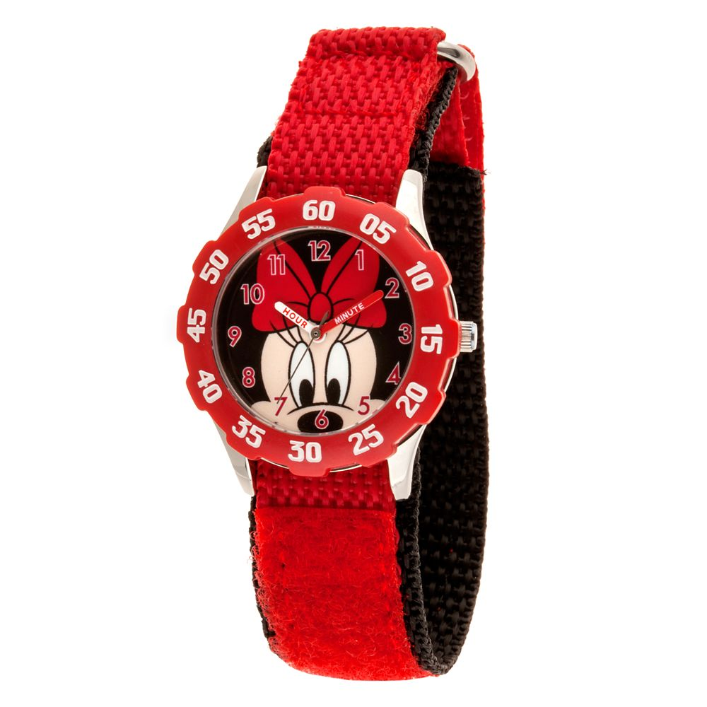 Minnie Mouse Stainless Steel Time Teacher Watch – Kids