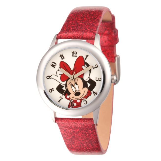 Minnie Mouse Glitter Watch – Kids