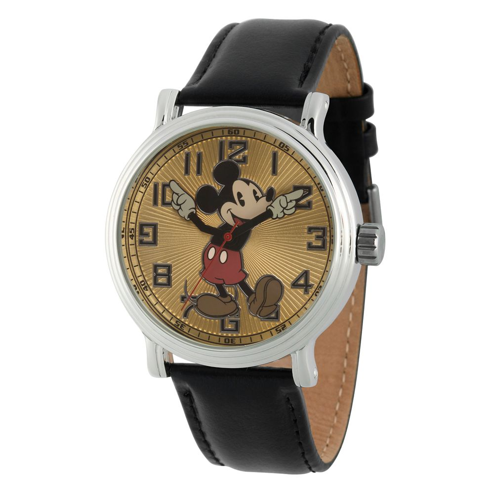 Vintage Mickey Mouse Watch – Adults