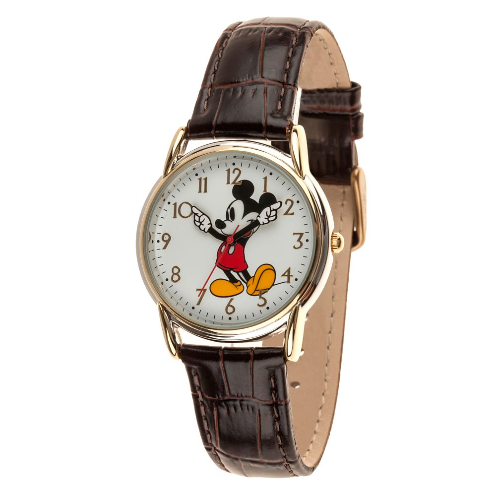 Classic Mickey Mouse Watch – Adults