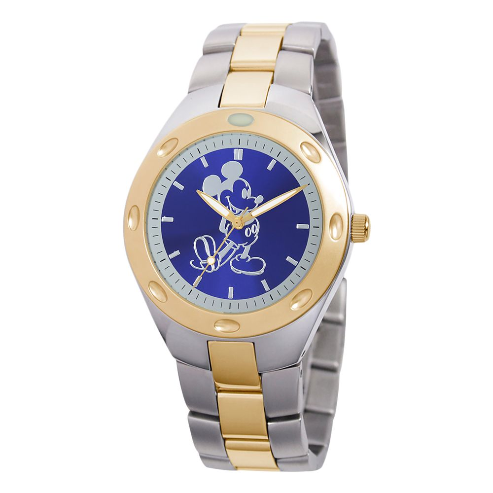 Mickey Mouse Two-Tone Watch – Adults