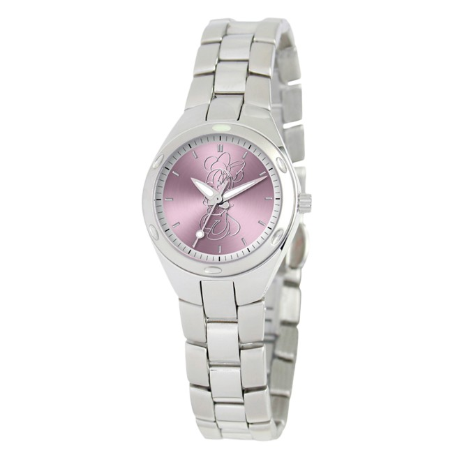 Minnie Mouse Stainless Steel Watch – Adults