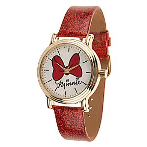 Minnie Mouse Bow Watch - Adults