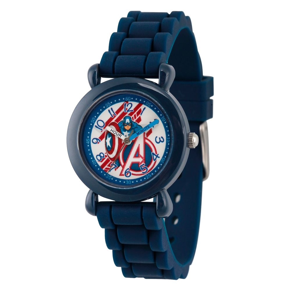 Captain America Time Teacher Watch – Kids