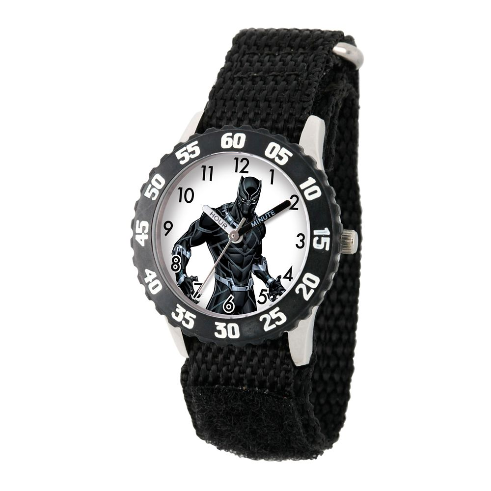 Black Panther Time Teacher Watch for Kids