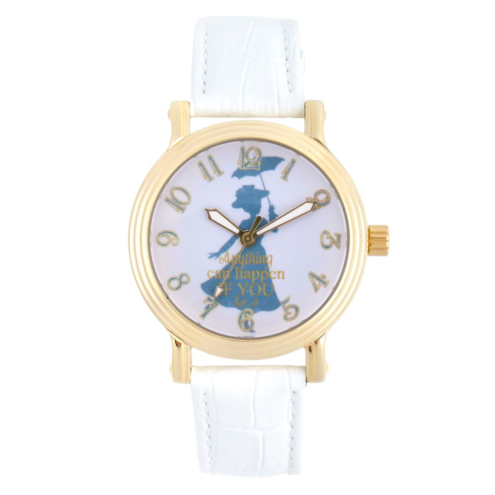 Mary Poppins Watch for Women – White