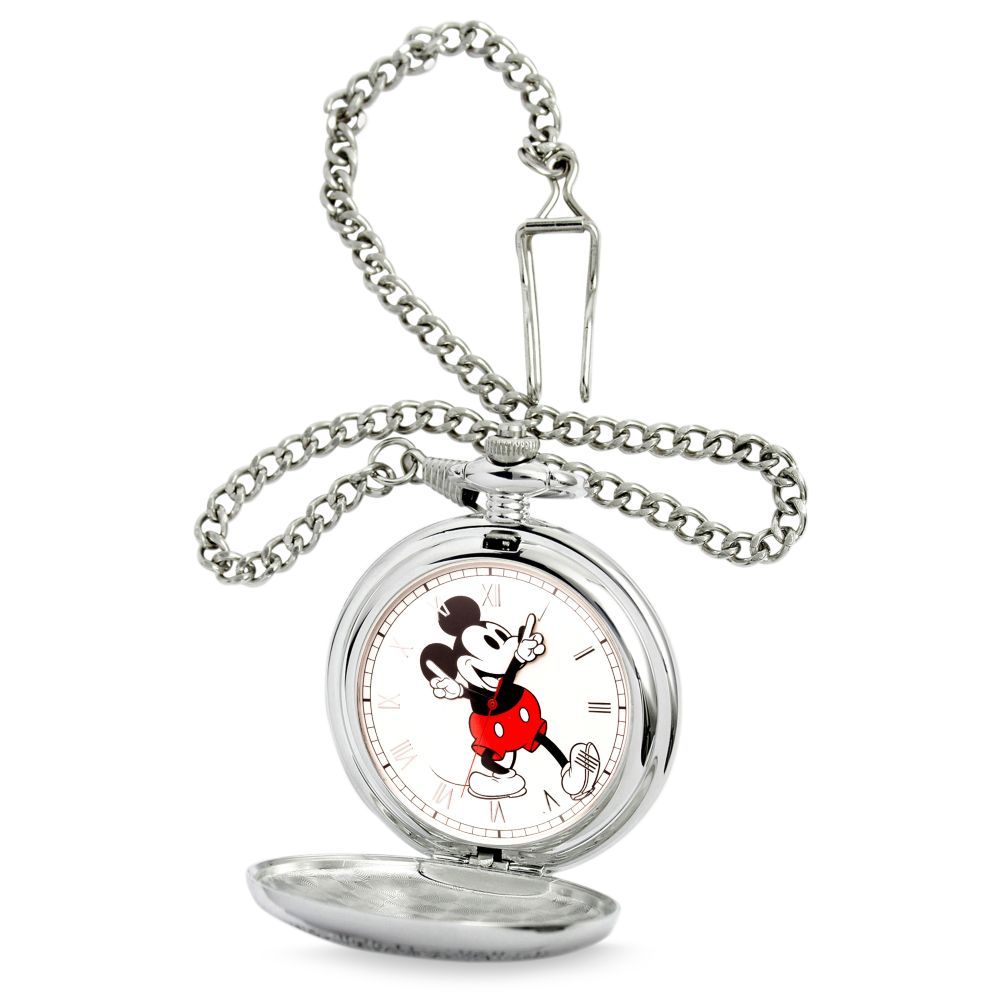Mickey Mouse Pocket Watch #disney #giftsformen #pocketwatch #disneygifts