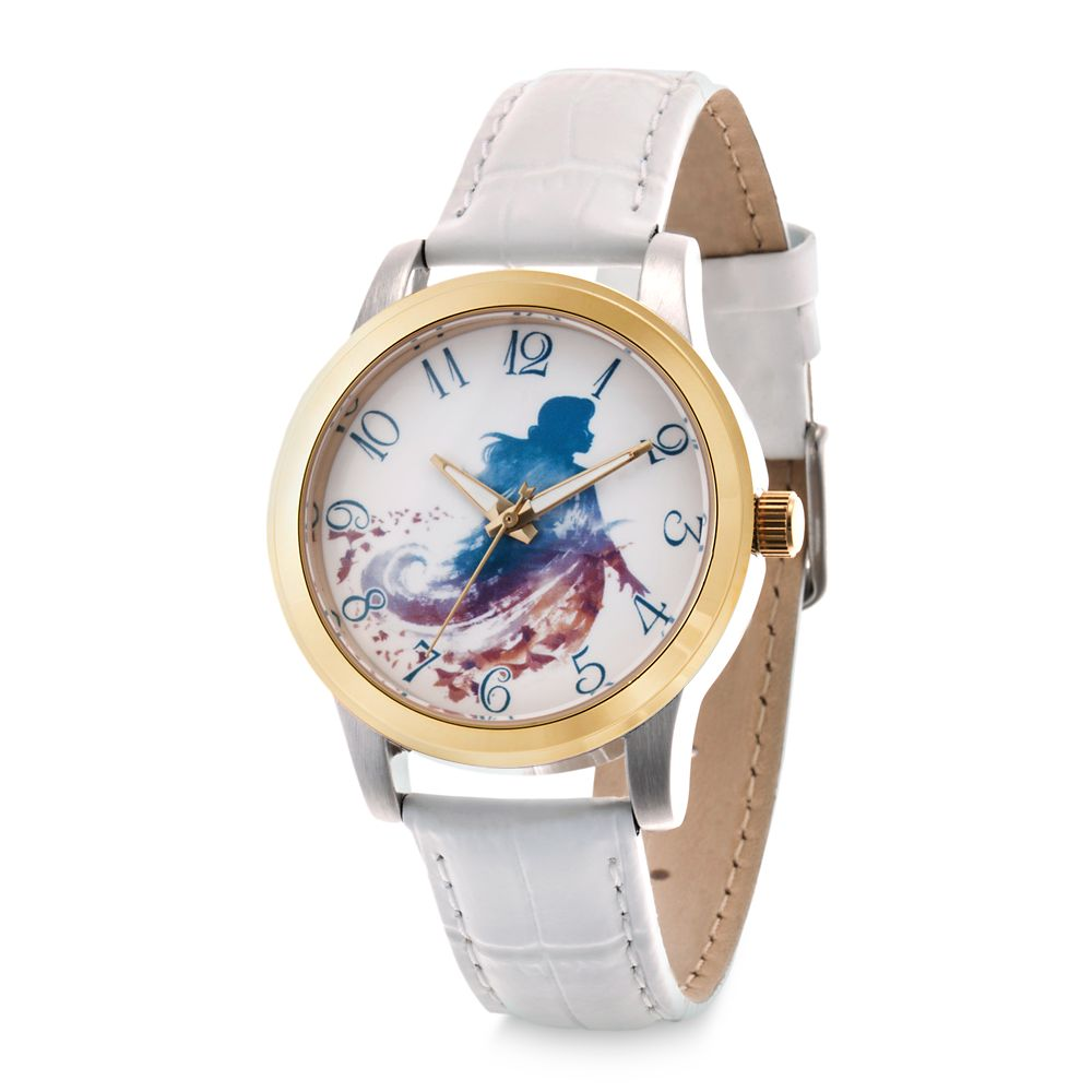 Anna Two-Tone Alloy Watch for Women – Frozen 2