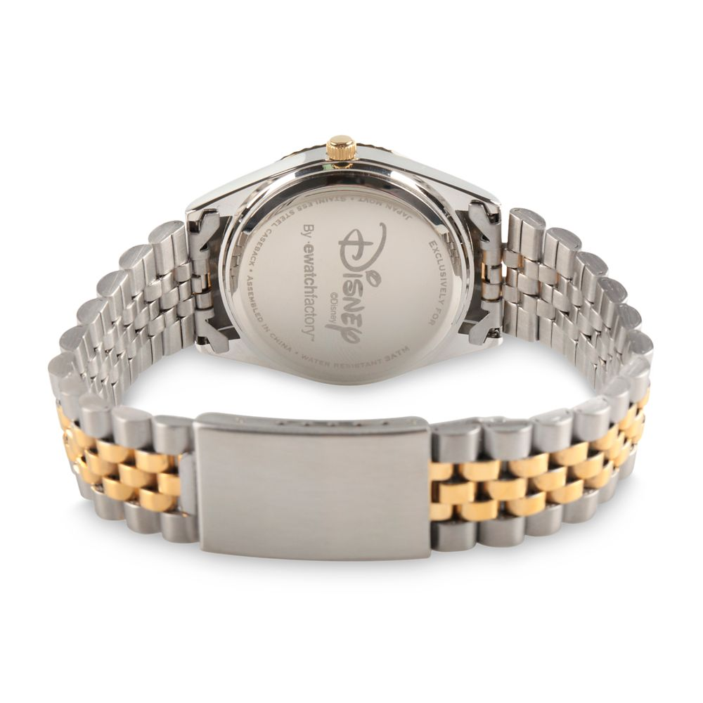 Mickey Mouse Two-Tone Alloy Watch for Men