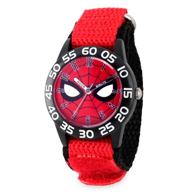 Spider-Man Mask Time Teacher Watch for Kids