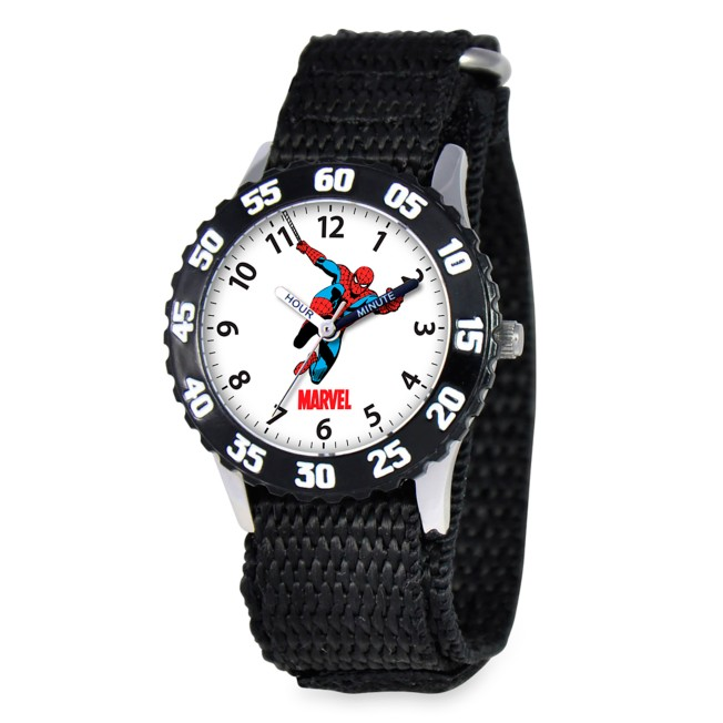 Spider-Man Stainless Steel Time Teacher Watch for Kids